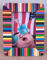 How to Make a Colored Pencil Picture Frame