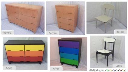 Repainted Furniture how to paint furniture downloadable tutorial | diydork