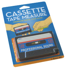 Retro 1980s Cassette Tape Measure